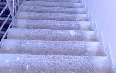 B block stairs