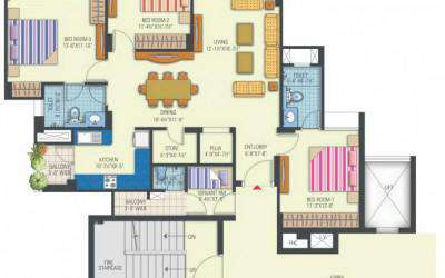 Tower 2,6 & 7 (3BHK)