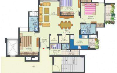 Tower 1 & 8 (3BHK)