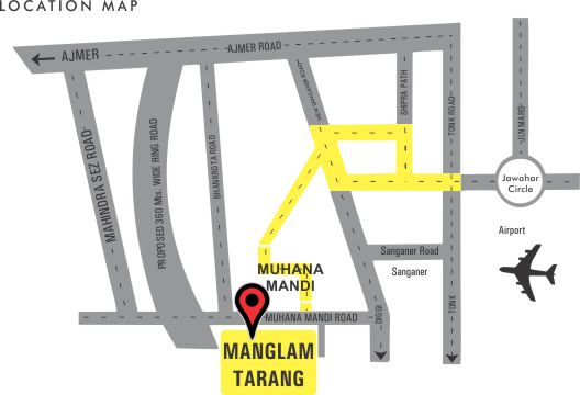 Manglam Tarang Location-Map