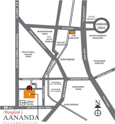 Manglam Aananda Location