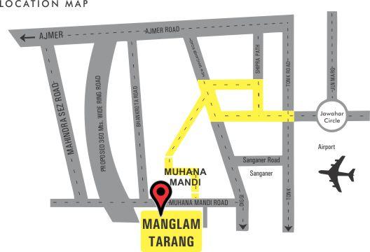 Manglam Tarang Location-Map