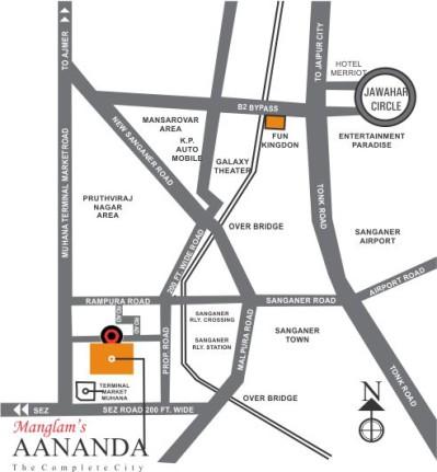 Manglam Aananda Location
